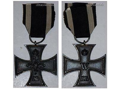 Germany WW1 Medal Iron Cross 1914 EK2 Mkr K Decoration Merit Prussia German WWI