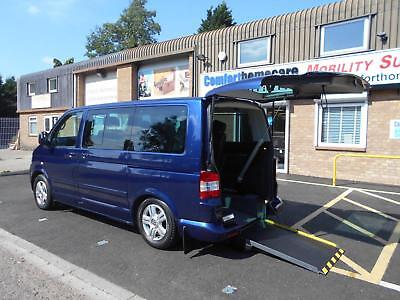 Volkswagen Caravelle 2.5 TDi PASSENGER UPFRONT OR DRIVE FROM WHEELCHAIR ACCESS