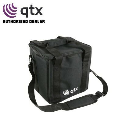 QTX 2-Way Par Can Padded Lighting Effect Transport Carry Bag with Dividers