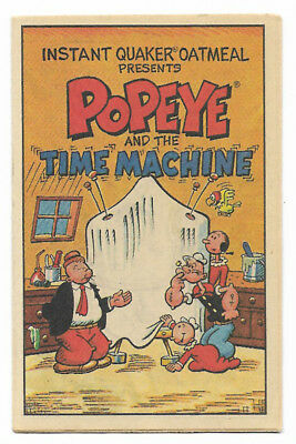 Popeye And The Time Machine (1989, Quaker Oatmeal) Promo Giveaway In Cereal