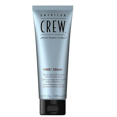 American Crew Fiber Cream 100 Ml Styling Cream Hair Hold Creamy Texture Flexible