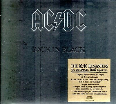 AC/DC ‎– Back In Black (2003) (Epic/Albert Productions ‎– EPC 510765) (Digipak)