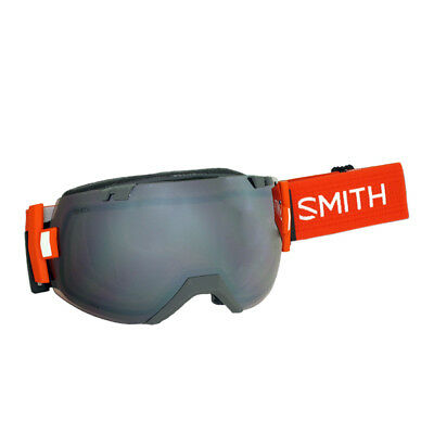 Smith I/OX Charcoal Goggles w/ Ignitor + Blue Sensor Mirror Lens