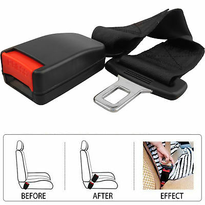 (Next Day Delivery) 36CM UNIVERSAL CAR SEAT BELT EXTENSION EXTENDER BUCKLE