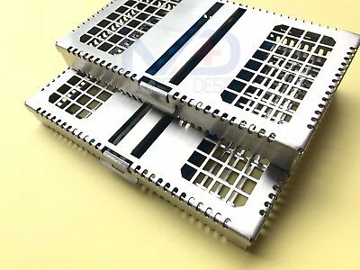 Dental Implant Sterilization Cassette Tray Box Case for 7 and 10
