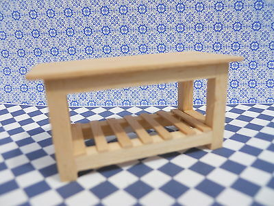 Dolls House Miniature Furniture In 1/24 Scale Table