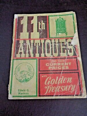 Edwin G. Warman 11th Antiques Guide 1972 (Cat.#6T023)