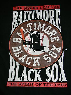 b51fa4df Negro League Museum Baltimore Black Sox Baseball t shirt men's XL short  sleeve