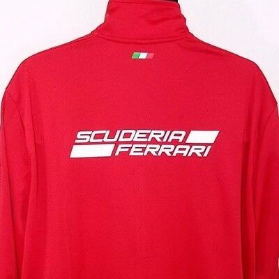 Ferrari Scuderia Puma Mens Track Jacket Formula One 1 Racing Spell Out Size 2XL