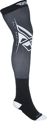 Fly Racing Knee Brace Sock Black/white L/x 350-0440L
