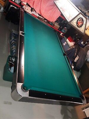 USED AMF PLAYMASTER Slate Pool Table PicClick - Amf pool table models