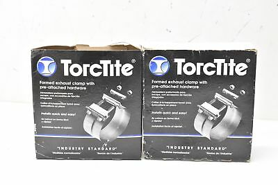 """TorcTite 90356A-10 Formed Exhaust Clamp 4"""" Lot of 2"""