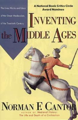 Inventing the Middle Ages, Cantor, Norman F., Good Condition, Book