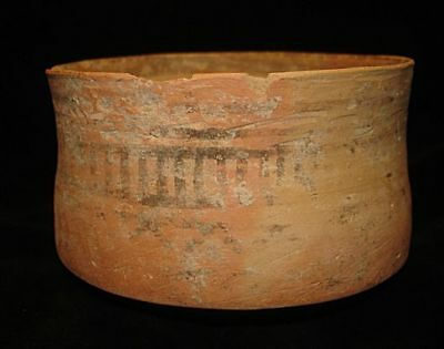 LARGE PAINTED BOWL   X ANCIENT!  5000 years old! 3000BC~~~no reserve