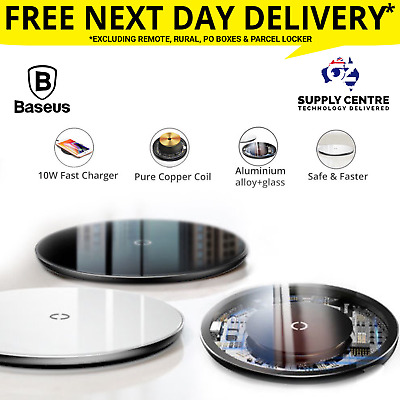 Baseus wireless charger Qi 10W fast charging for iPhone 11 pro X 8 XR samsung S9