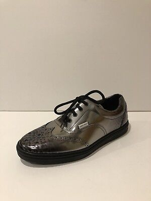 d4a11fbd9fe5 New Jimmy Choo Lace Up Grey Leather Oxford Dress Shoes (Size  43EU 10US
