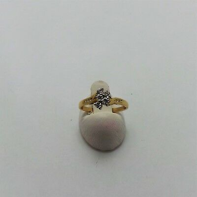 18ct YELLOW GOLD DIAMOND ENGAGEMENT RING VALUED @$1707 COMES WITH VALUATION