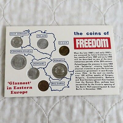 Glasnost In Easter Europe  7 Coin Uncirculated Tribute Set