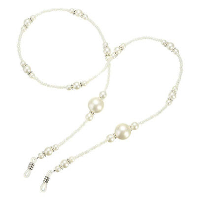 1Pc Pearl Beaded Eyeglass Holder Necklace Sunglass Eye Sun Glasses Chain Lanyard