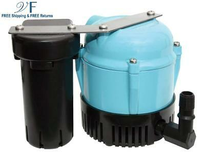 Little Giant 550521 1-ABS Discharge Shallow Pan Condensate Removal Pump, 115 Vol