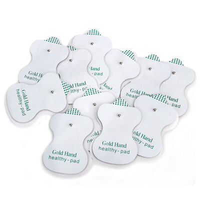 20x Replacement Pads for Electrode Tens Massager Machine Units Pad Self Adhesive