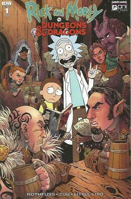 RICK AND MORTY VS DUNGEONS AND DRAGONS (2018) #1 RI-B cover - New Bagged (S)