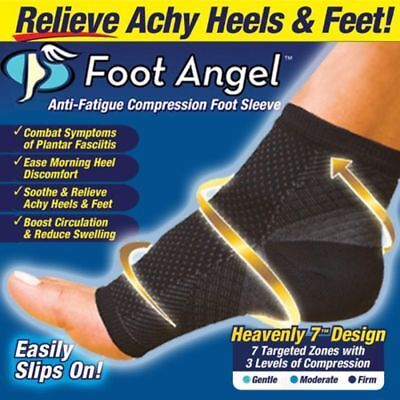 Professional Sport Foot Angle Anti-Fatigue Compression Foot Sleeve Sock???AG