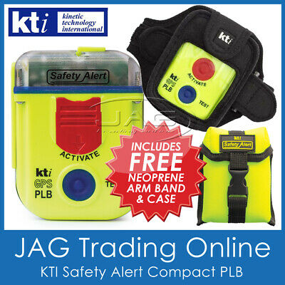 *BONUS OFFER*KTI PLB SA2G SAFETY ALERT 406MHz GPS Hand Personal Beacon not EPIRB