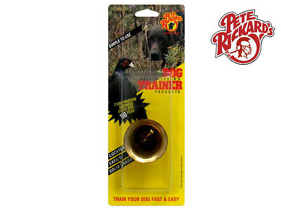 Pete Rickard - New Deluxe Brass Gun Dog Training Bell - Dd685 Bird Hunting
