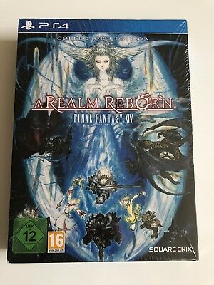 Neu Final Fantasy 14 XIV A Realm Reborn PS4  Collectors Edt PlayStation 4 Sealed