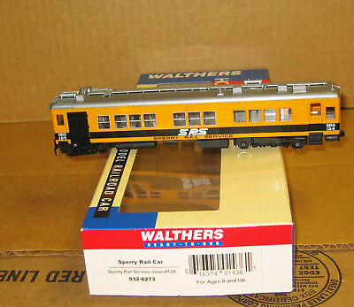 Walthers 932-6273 HO Sperry Rail Services Car #124