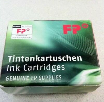 Genuine FP  PIC10 RED Ink Cartridge PostBase- Box of 2