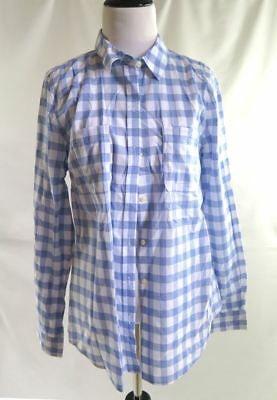 57b429ae5ff OLD NAVY OFF-THE-SHOULDER Gingham Top for Women Blue Gingham XS item ...