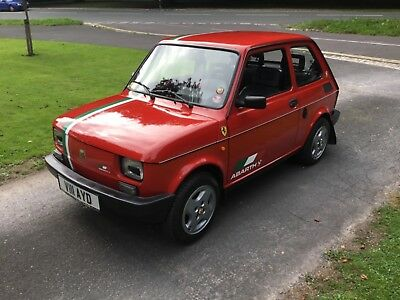 Classic Fiat 126 Abarth recreation, exceptional condition, one of the last made