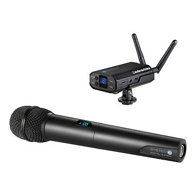 Audio-Technica System 10 - Camera-Mount Digital Wireless Microphone System with