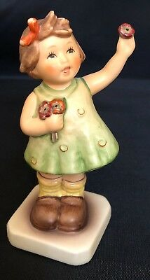 "1994 M.I.Hummel Club Goebel Figurine 793 Forever Yours,Girl 4"" Tall"