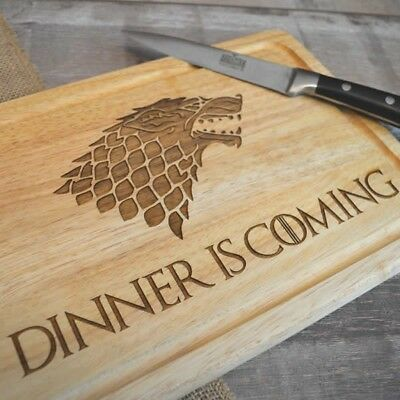 Game Of Thrones Dinner Is Coming Chopping Board