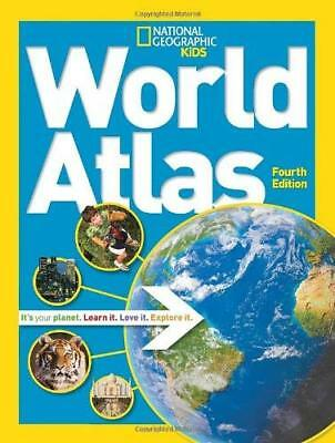National Geographic Kids World Atlas by National Geographic New Paperback Book
