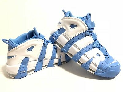 promo code e9ead c6ae7 Nike Air More Uptempo  96 University Blue White Shoe UNC 921948-401 Mens  Size