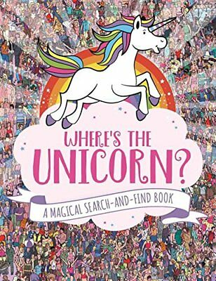 Where's the Unicorn? by Sophie Schrey New Paperback Book