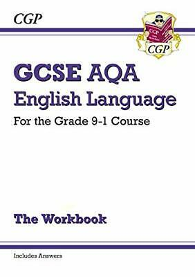GCSE English Language AQA Workbook - for the Gra by CGP Books New Paperback Book