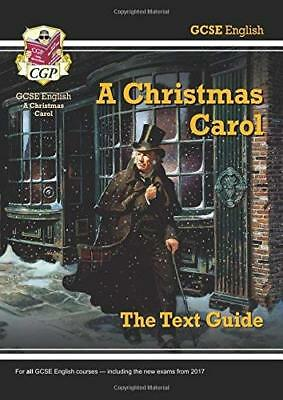 Grade 9-1 GCSE English Text Guide - A Christmas  by CGP Books New Paperback Book