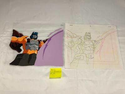 Transformers Japanese Beast Wars 2 Lio Junior Animation Cell Art Lot 171 Cel