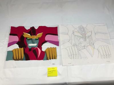 TRANSFORMERS JAPANESE BEAST WARS NEO MAGMATRON ANIMATION ART CELL cel LOT 224