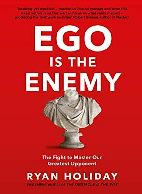 Ego is the Enemy by Ryan Holiday New Paperback Book