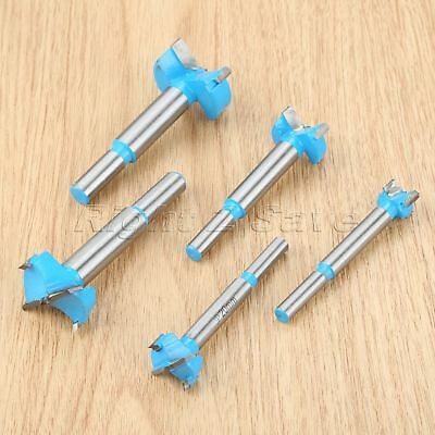 5pcs/set Forstner Boring Hole Saw Drilling Wood Cutters Holesaw Drill Bits Tool