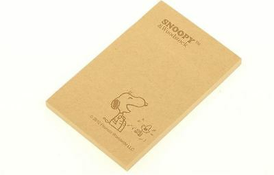 Snoopy 40pages Kraft Memo / Writing Pad / Paper / Sticky Message Note