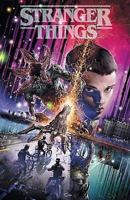 Stranger Things 1 Clayton Crain Exclusive Variant Netflix Season 3 Confirmed Nm