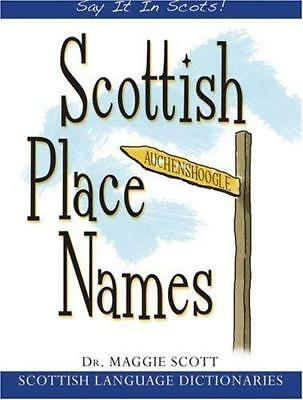 Scottish Place Names by Maggie Scott New Paperback Book