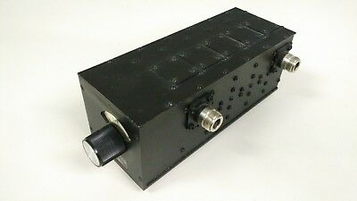 Tunable Band Pass Filter, Lorch Microwave, 5TF-1500/3000-5N